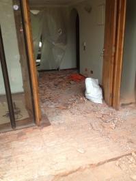 Hall de Acceso - Demolicion